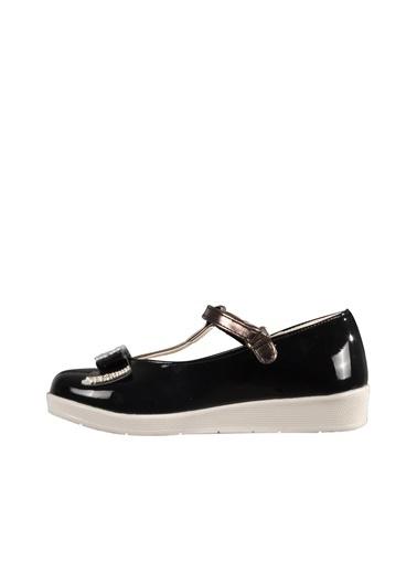 Osaka 4908 Sedef-Pudra Çocuk Günlük Ayakkabı Siyah